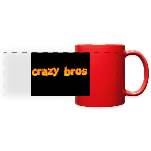 Crazy Bros logo - Full Color Panoramic Mug