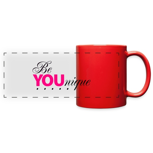 Be Unique Be You Just Be You - Full Color Panoramic Mug