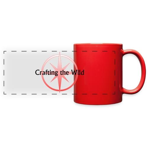 Crafting The Wild - Full Color Panoramic Mug