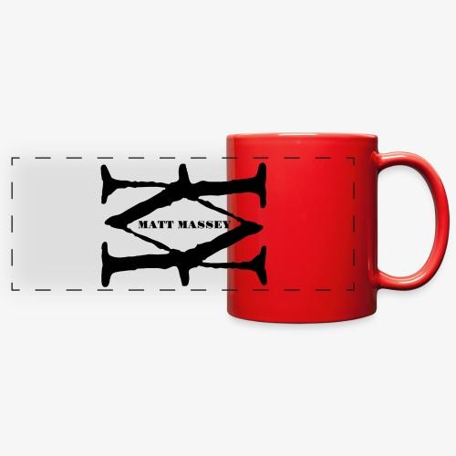 Matt Massey Logo Black - Full Color Panoramic Mug
