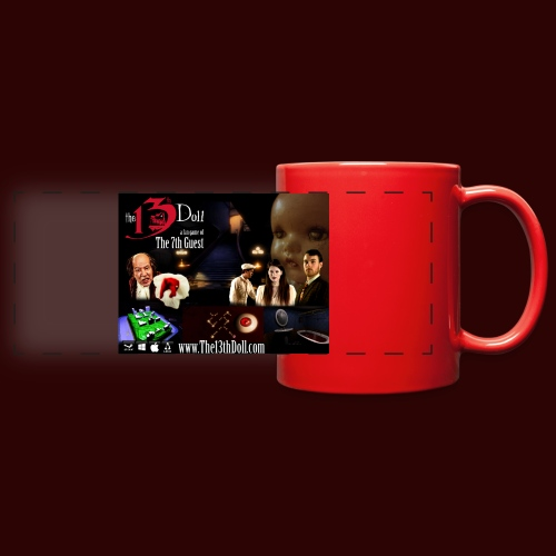 The 13th Doll Cast and Puzzles - Full Color Panoramic Mug