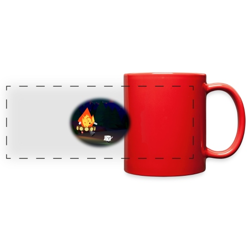 'Round the Campfire - Full Color Panoramic Mug