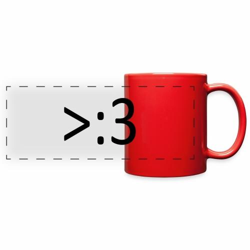 >:3 - Full Color Panoramic Mug