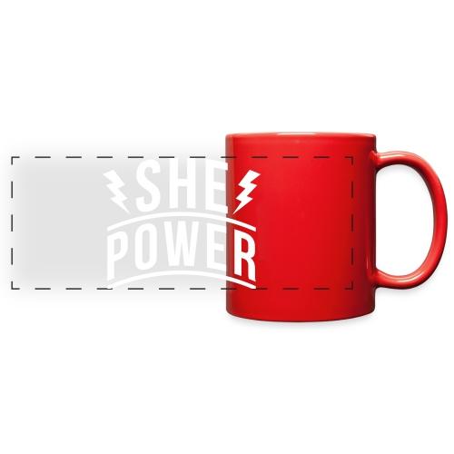 She Power - Full Color Panoramic Mug