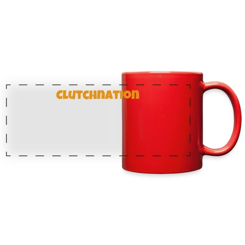 LIMTED TIME GOLD CLUTCHNATION MERCH!!!!!!!! - Full Color Panoramic Mug