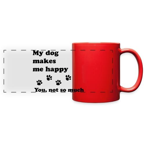 love dog 2 - Full Color Panoramic Mug