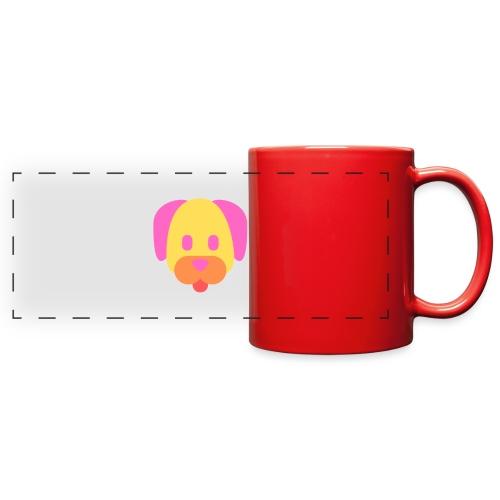 Vibrant Color Dog - Full Color Panoramic Mug