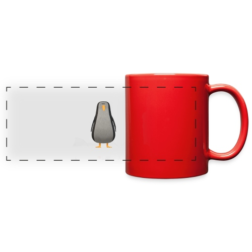 penguin - Full Color Panoramic Mug