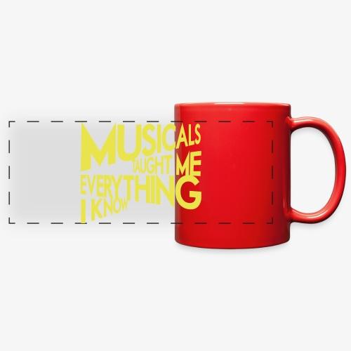 MTMEIK White Logo - Full Color Panoramic Mug