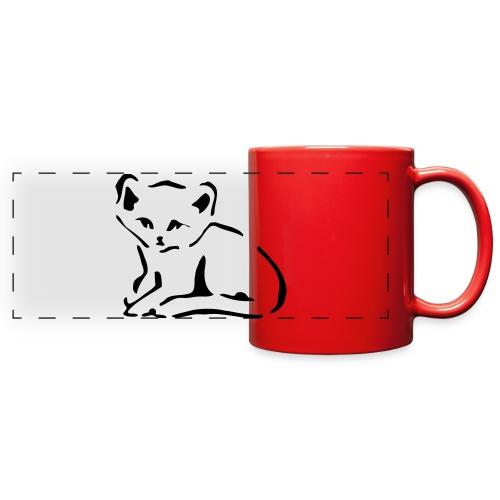 Kitty Cat - Full Color Panoramic Mug