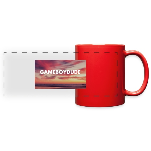 GameBoyDude merch store - Full Color Panoramic Mug