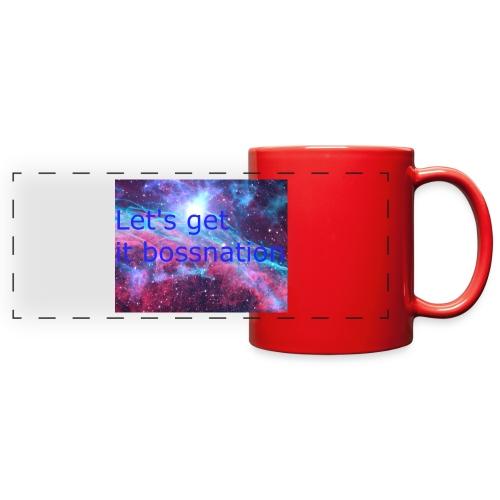 boss360 merch - Full Color Panoramic Mug