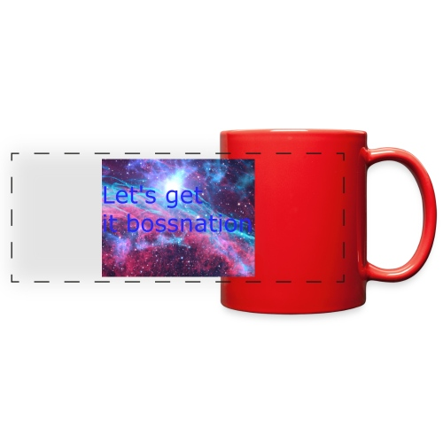 boss360 merch - Full Color Panoramic Mug