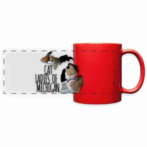 Cat Ladies of Michigan - Full Color Panoramic Mug