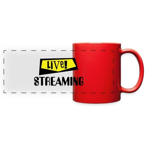 Live Streaming - Full Color Panoramic Mug