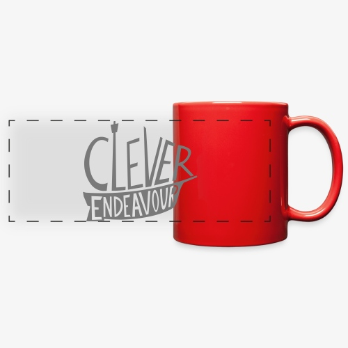 Clever Endeavour Logo - Full Color Panoramic Mug