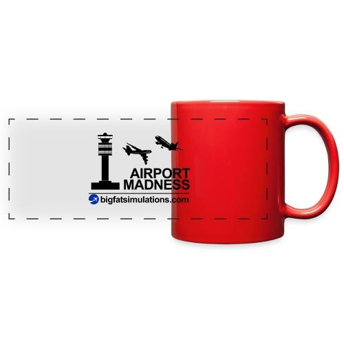 The Official Airport Madness Mug - Full Color Panoramic Mug