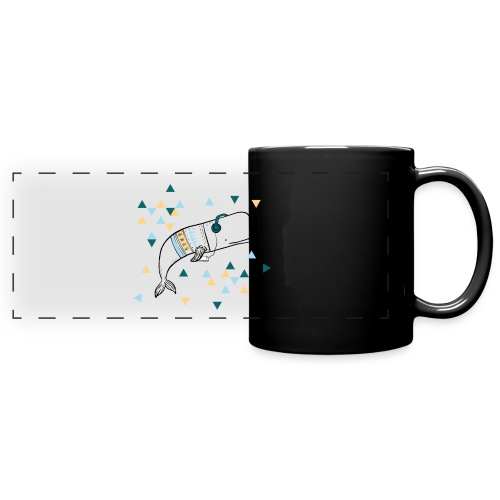 Music Whale - Full Color Panoramic Mug