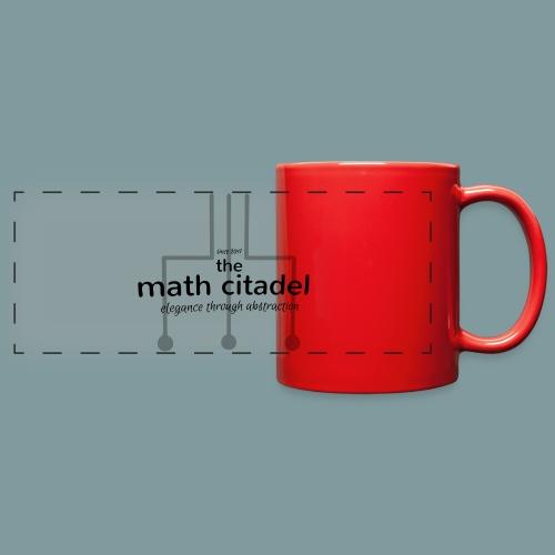 Abstract Math Citadel - Full Color Panoramic Mug