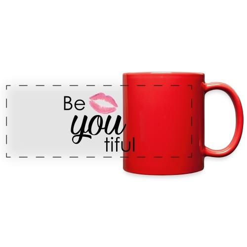 Be-You-Tiful Lip Logo - Full Color Panoramic Mug