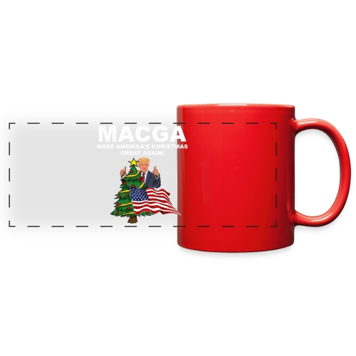 Make America's Christmas Great Again - Full Color Panoramic Mug