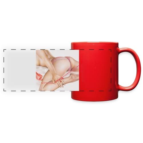 On da phone - Full Color Panoramic Mug