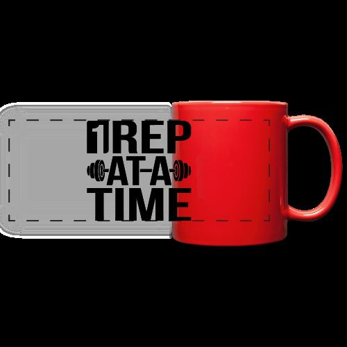 1Rep at a Time - Full Color Panoramic Mug