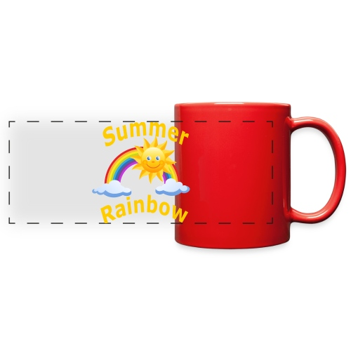 Summer Rainbow - Full Color Panoramic Mug