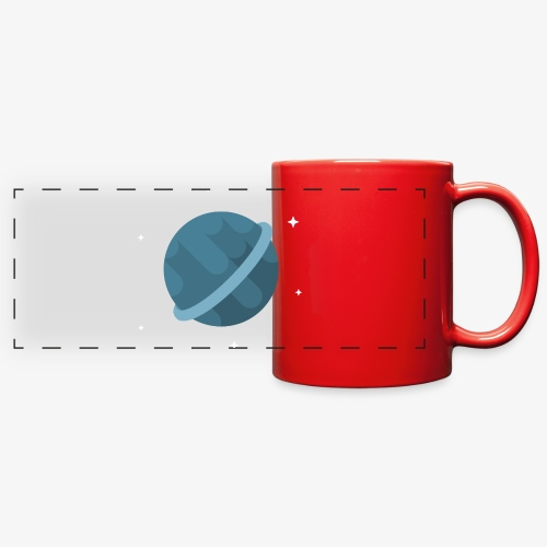 Tiny Blue Planet - Full Color Panoramic Mug