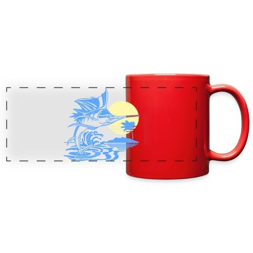 Sailfish - Full Color Panoramic Mug