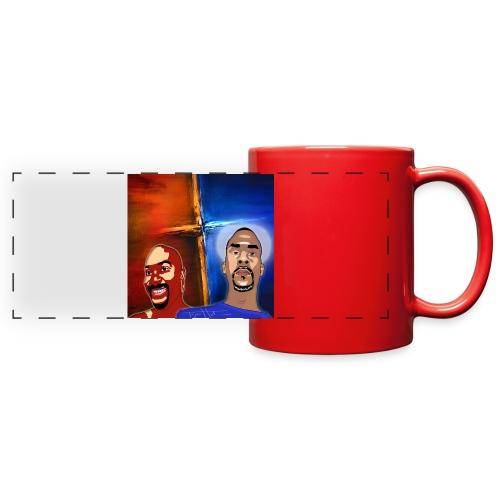 pretty tony galaxy 7 edge case - Full Color Panoramic Mug