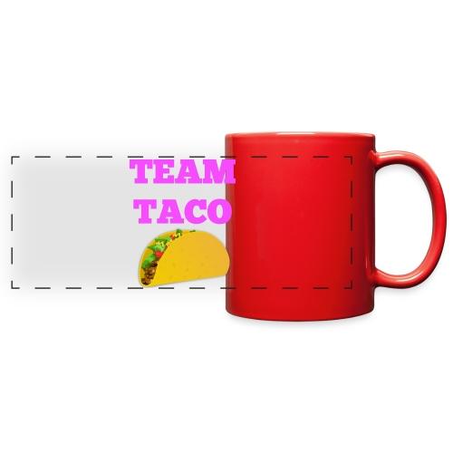 TEAMTACO - Full Color Panoramic Mug