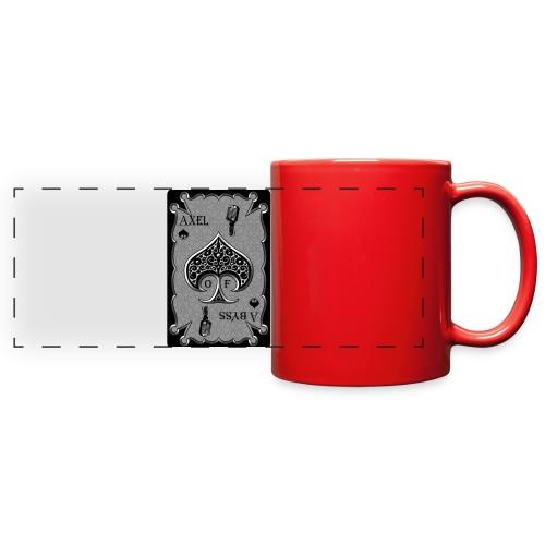 Axelofabyss Spade Card - Full Color Panoramic Mug
