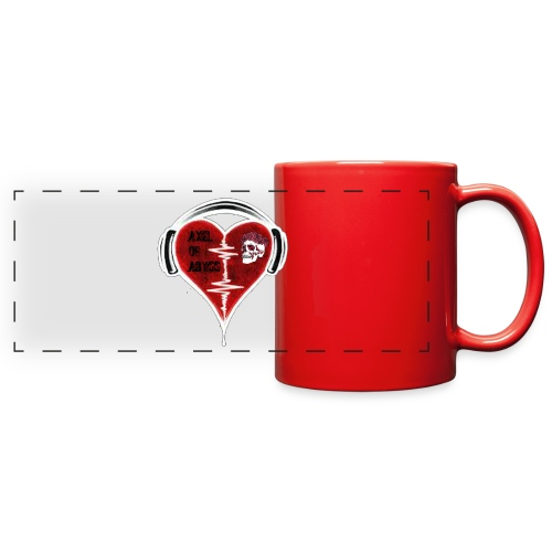 Axelofabyss Music in your heart - Full Color Panoramic Mug