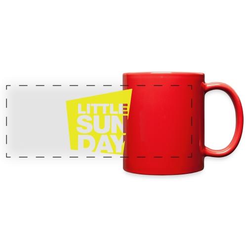 littleSUNDAY Official Logo - Full Color Panoramic Mug