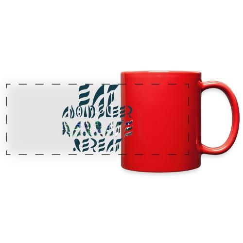 Eat Sleep Narrate Repeat - Full Color Panoramic Mug