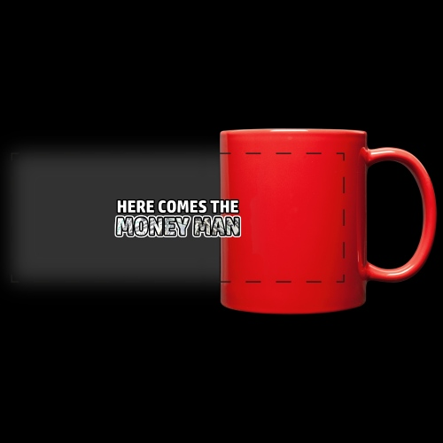 Here Comes The Money Man - Full Color Panoramic Mug