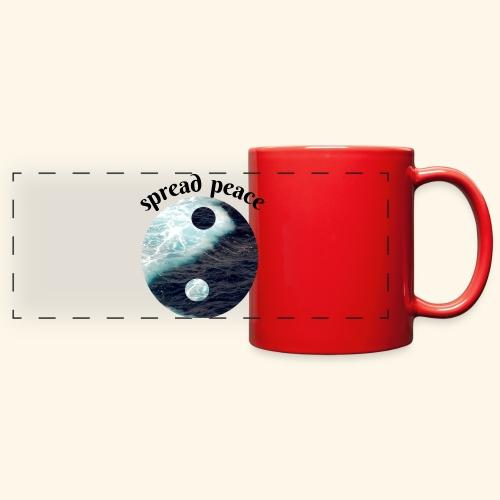 spread peace - Full Color Panoramic Mug