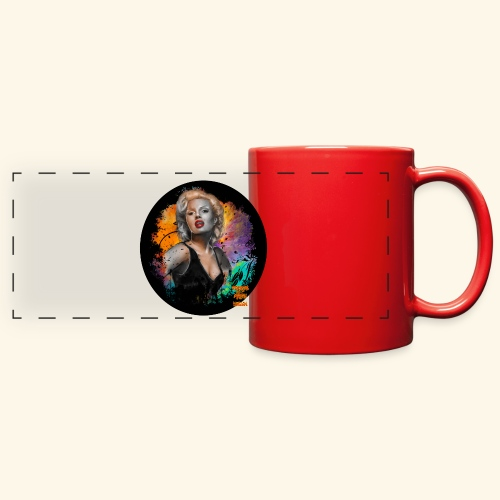 Marilyn Monroe - Full Color Panoramic Mug