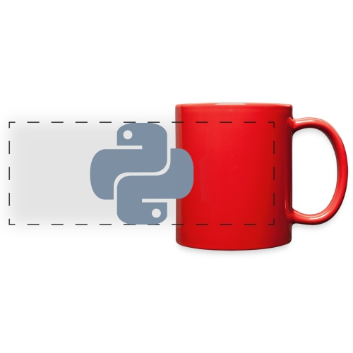 Python Logo - Full Color Panoramic Mug