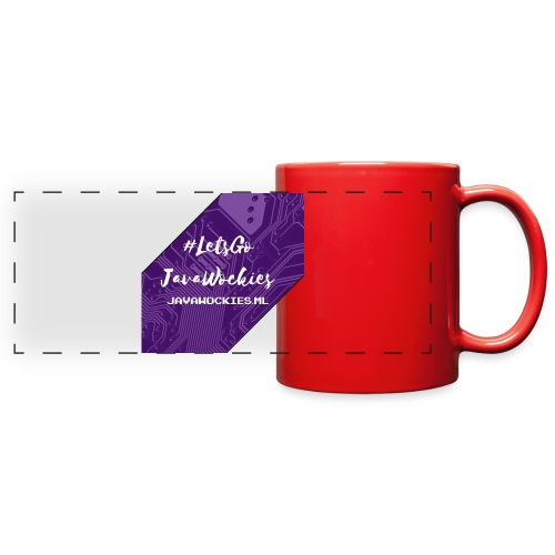 #LetsGoJavaWockies - Full Color Panoramic Mug