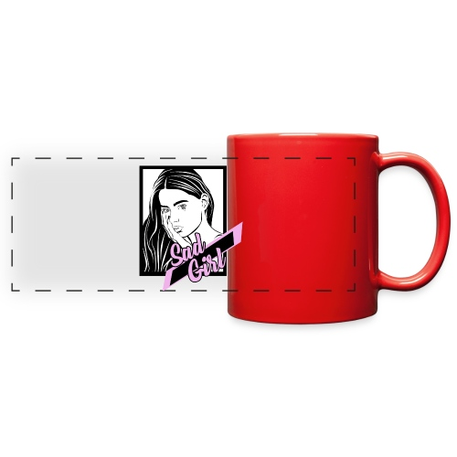 SADGIRL - Full Color Panoramic Mug