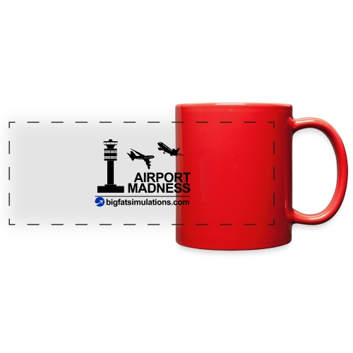 The Official Airport Madness Mug - Full Color Panoramic Mug