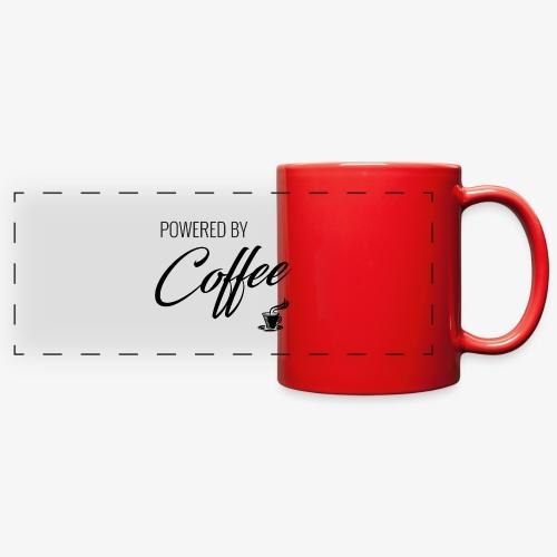 Powered by Coffee - Full Color Panoramic Mug