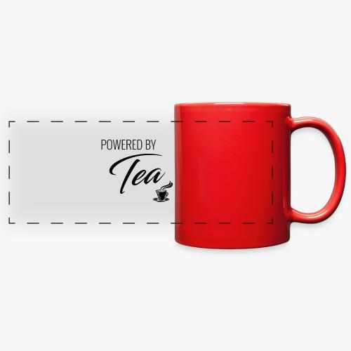 Powered by Tea - Full Color Panoramic Mug