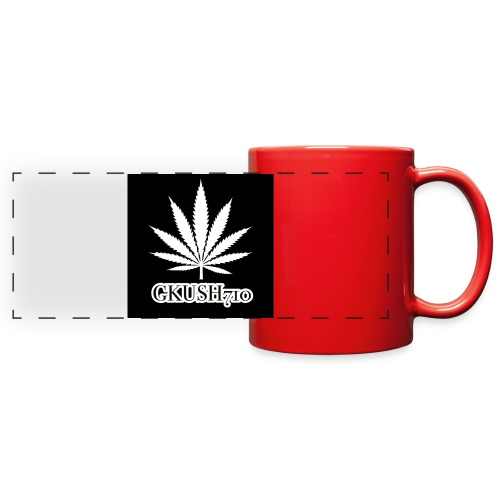 Weed Leaf Gkush710 Hoodies - Full Color Panoramic Mug