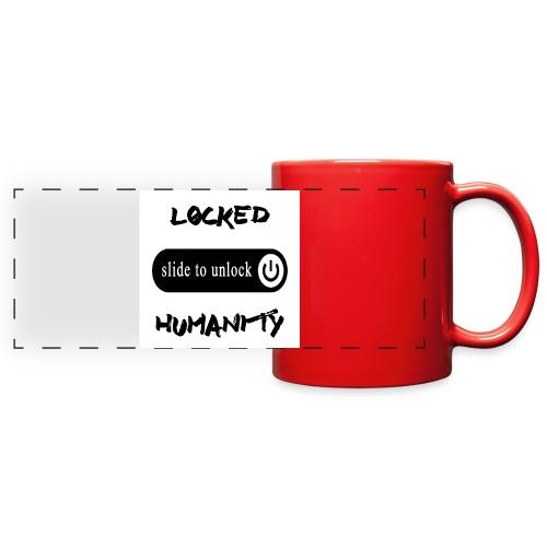 Locked Humanity - Full Color Panoramic Mug