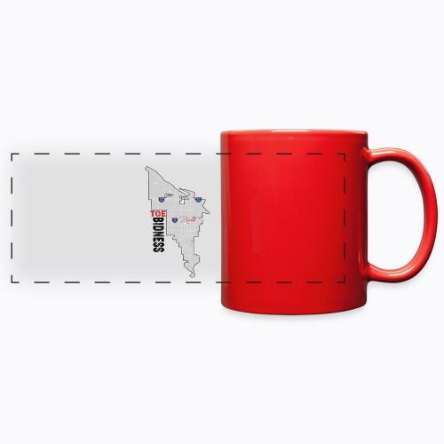 Toe Bidness - Full Color Panoramic Mug