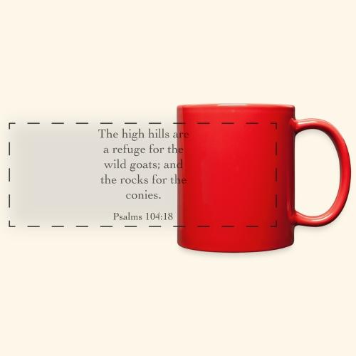 High Hills KJV - Full Color Panoramic Mug