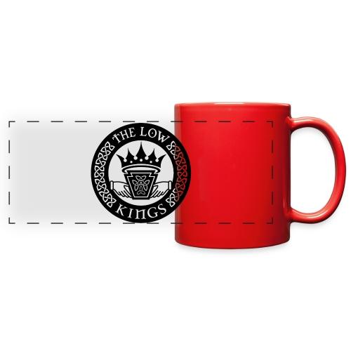 Black logo - Full Color Panoramic Mug